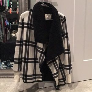 Abercrombie sweater coat